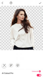 PickU Photo Editor | Cutout Editor & Background Eraser 3