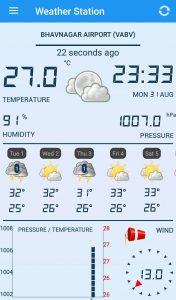 Home Weather Station   Forcast app (Trending app) 3