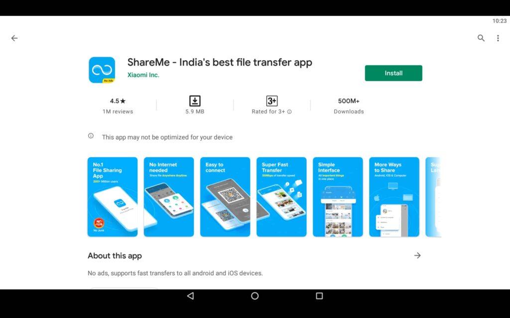 Install File Transfer App