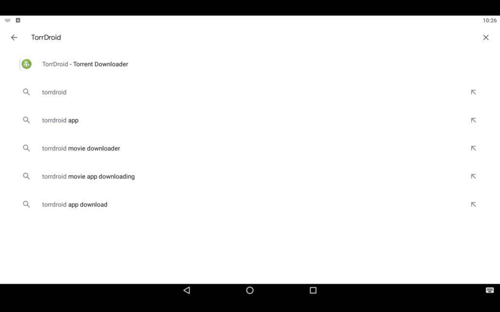 Search Torrent Downloader